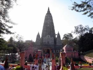 お釈迦さまがお悟りになったブッダガヤ(インド)