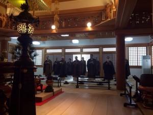 H29 2月 六時礼讃会 蓮台寺3