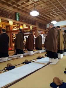 H29 2月 六時礼讃会 蓮台寺4