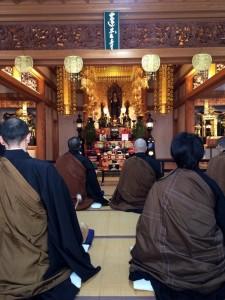H29 2月 六時礼讃会 蓮台寺5